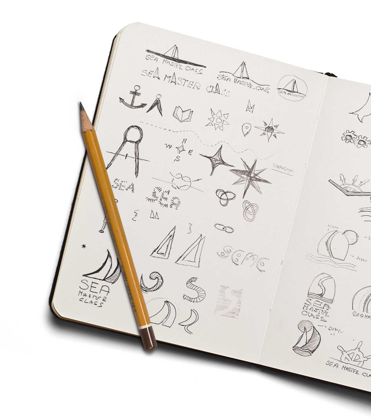 Sea Naster Class logo sketch