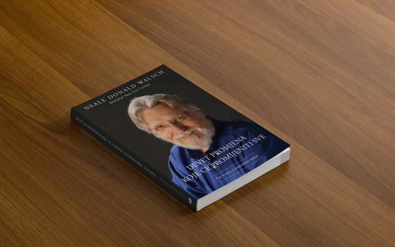 Dizajn naslovnice - Knjiga Devet promijena