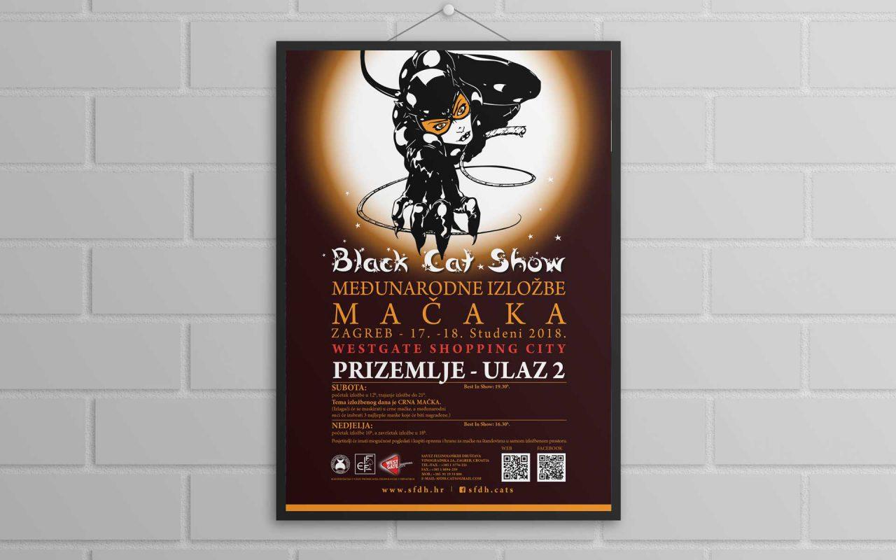 Poster Izložba mačaka