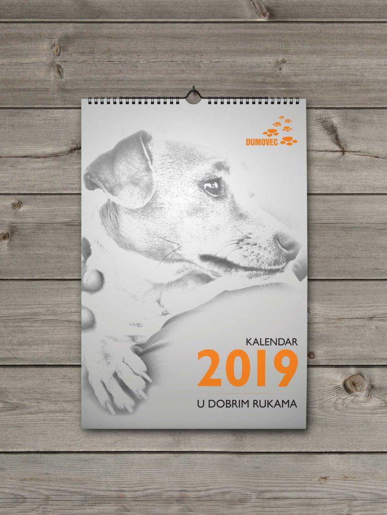 Kalendar Dumovec 2019 naslovna stranica