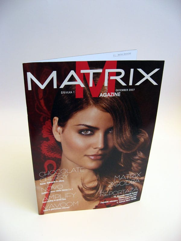 Časopis Loreal Matrix