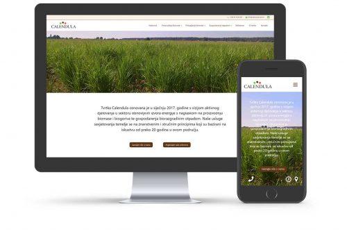 Calendula web stranica