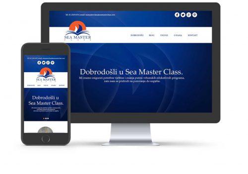 Web stranica Sea Master Class