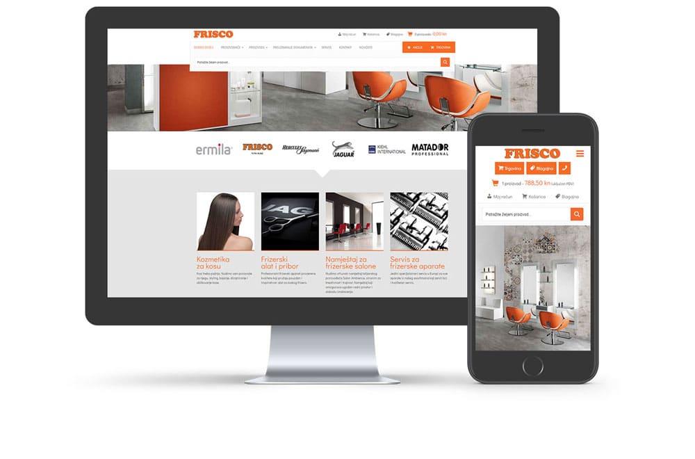Frisco web stranica