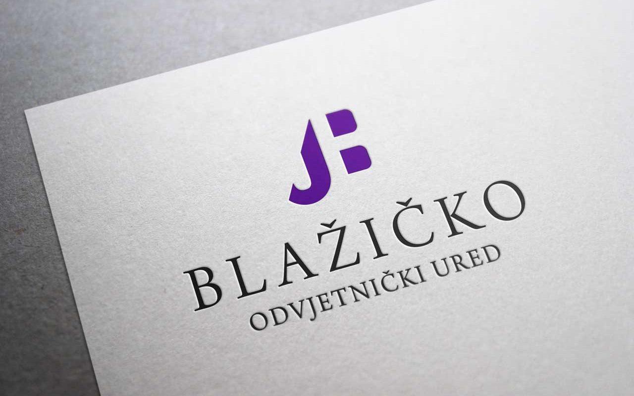 Logo Odvjetnički ured Blažičko