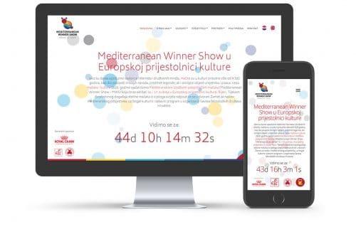 Web stranica MWS2020